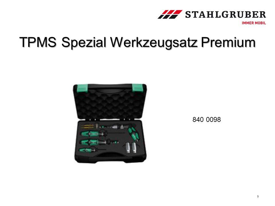 TPMS Spezial Werkzeugsatz Premium 9 840 0098