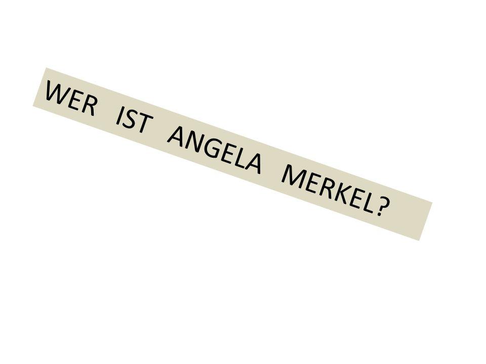 Bundeskanzlerin Angela Merkel steht an der Spitze der Regierung