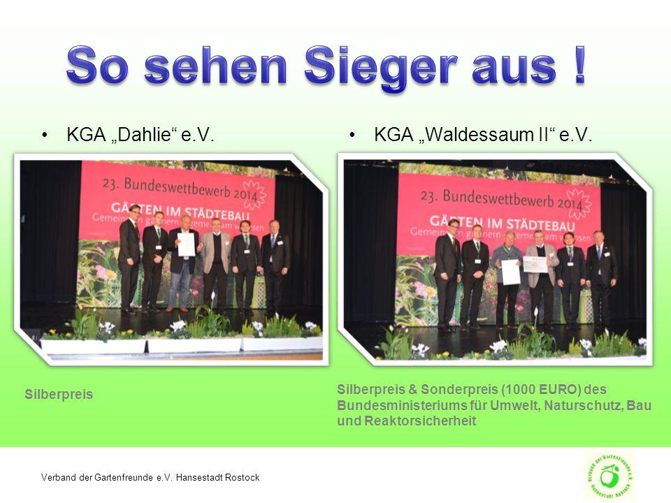 """KGA """"Dahlie e.V.KGA """"Waldessaum II e.V. Verband der Gartenfreunde e.V."""
