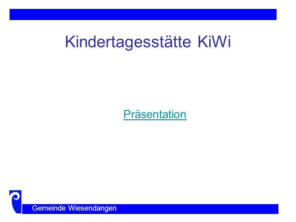 Bauprojekt Gemeinde Wiesendangen