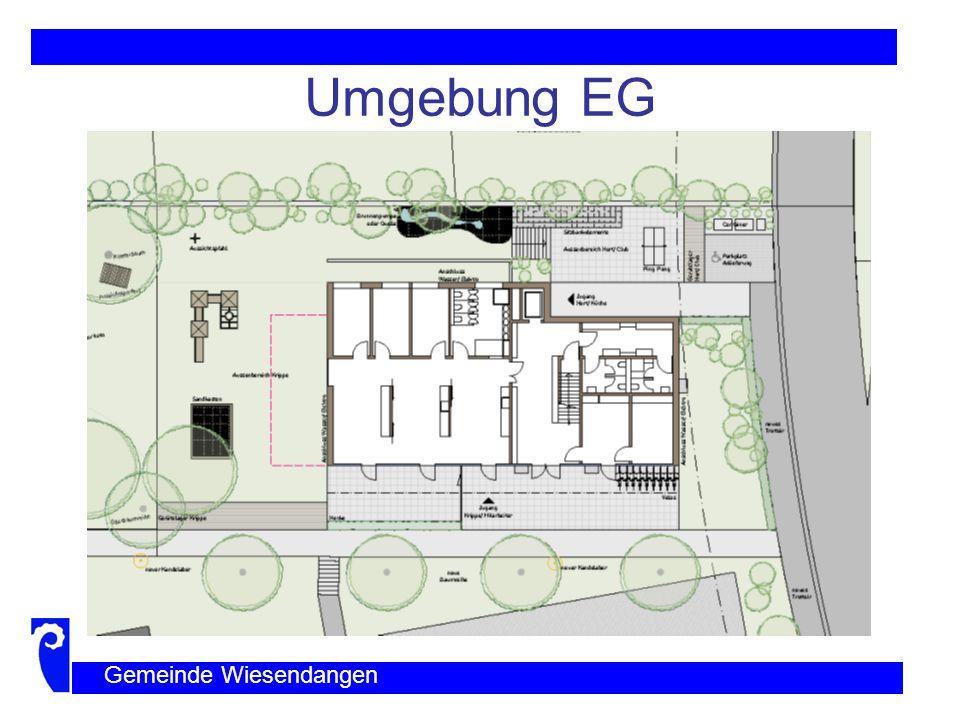 Grundriss EG Gemeinde Wiesendangen
