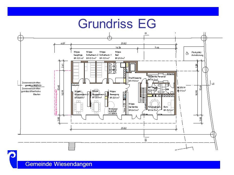 Grundriss OG Gemeinde Wiesendangen