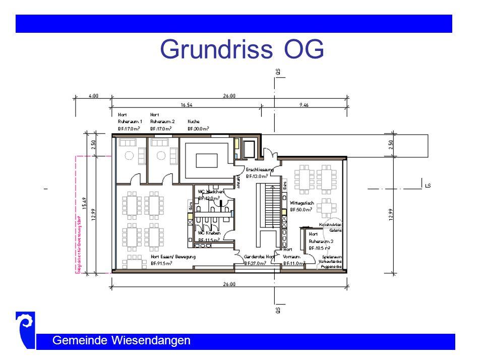 Grundriss UG Gemeinde Wiesendangen