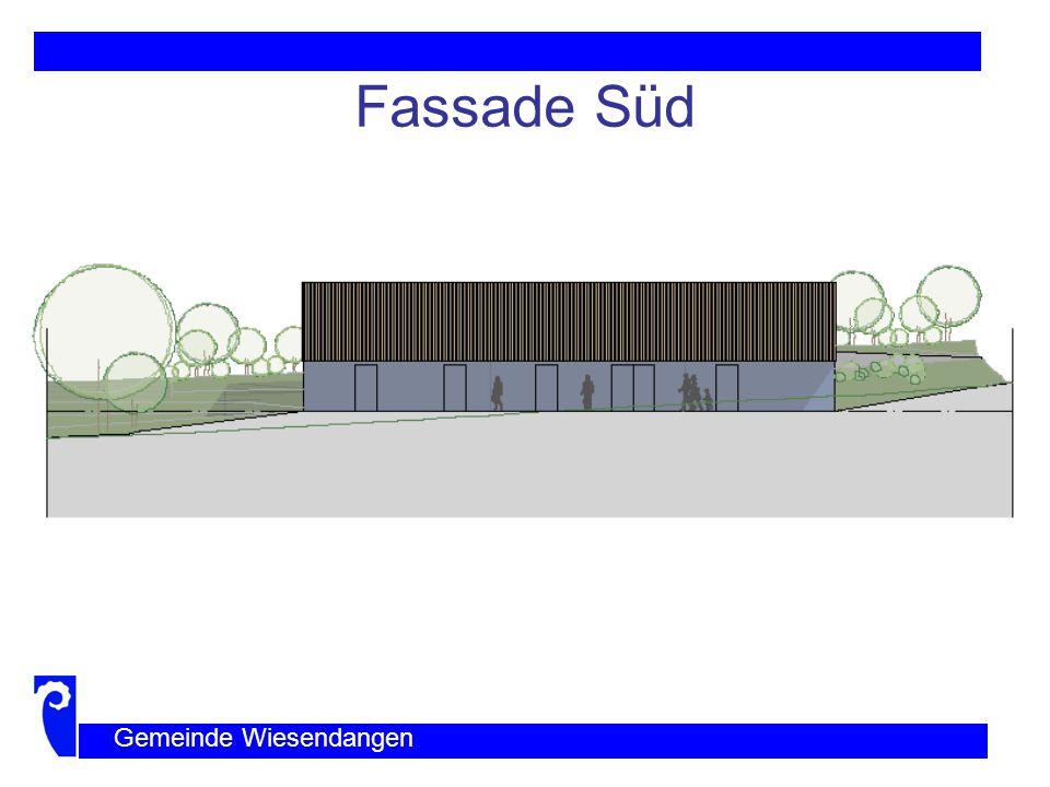 Fassade Ost und West Gemeinde Wiesendangen