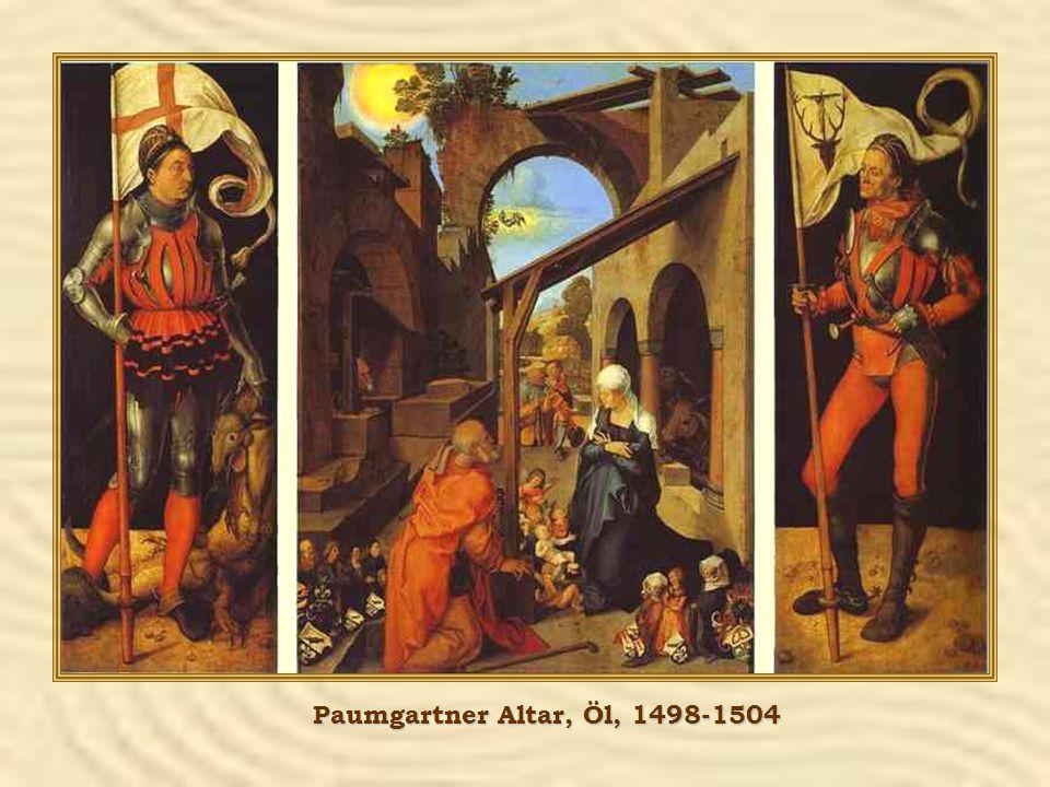 Paumgartner Altar, Öl, 1498-1504