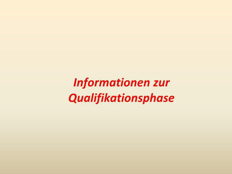 Die gymnasiale Oberstufe Abiturzeugnis Abiturprüfung Zulassung zur Abiturprüfung Qualifikationsphase 1.