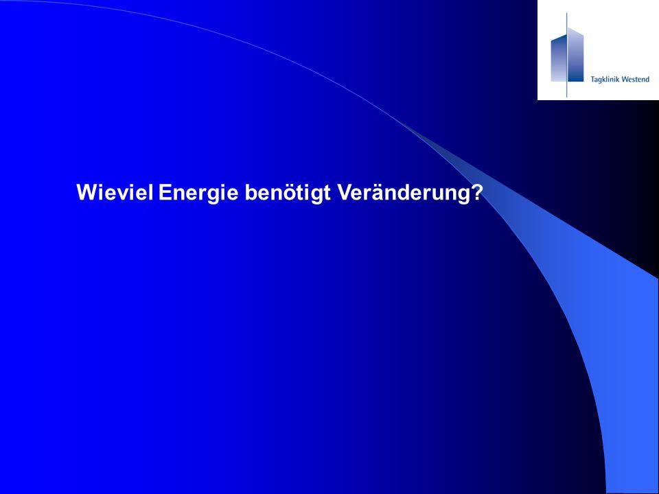Wieviel Energie benötigt Veränderung?