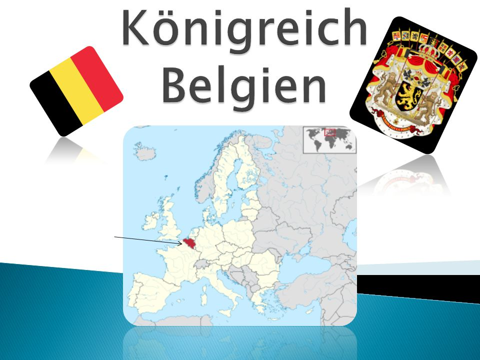  Fläche: 30.528 km²  Einwohner: 10.951.266  Bevölkerungsdichte: 359 Einwohner/km²  Amtssprachen: Nieder- ländisch, Französisch und Deutsch  Hauptstadt: Brüssel mit 1.160.478 EW  Währung: Euro Atomium, Brüssel