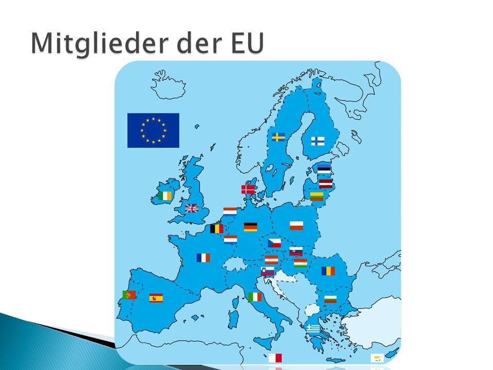  Die EU ist eine einzigartige wirtschaftliche und politische Partnerschaft zwischen 27 europäischen Staaten, die zusammen einen großen Teil des europäischen Kontinents ausmachen.