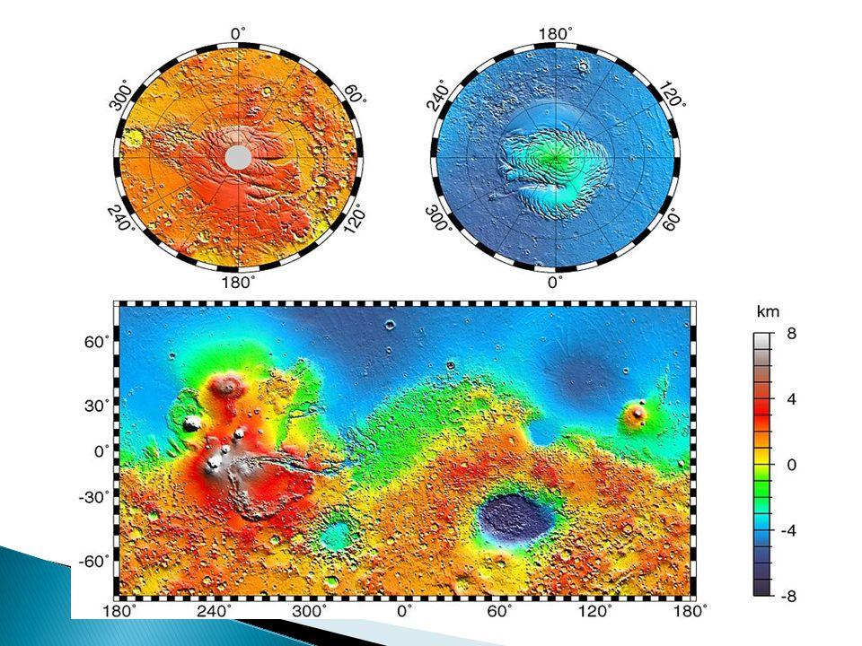  Die meisten entspringen an den Mariner Tälern und lauen im Chryse-Becken zusammen  Sie weisen auf eine vergangene Flutperiode hin (es könnte sich um Eis gehandelt haben)  An Kraterrändern und Abhängen die befinden sich Erosionen die auf fleissendes Wasser hinweisen könnten