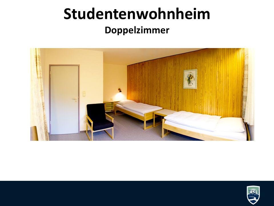 Studentenwohnheim Doppelzimmer