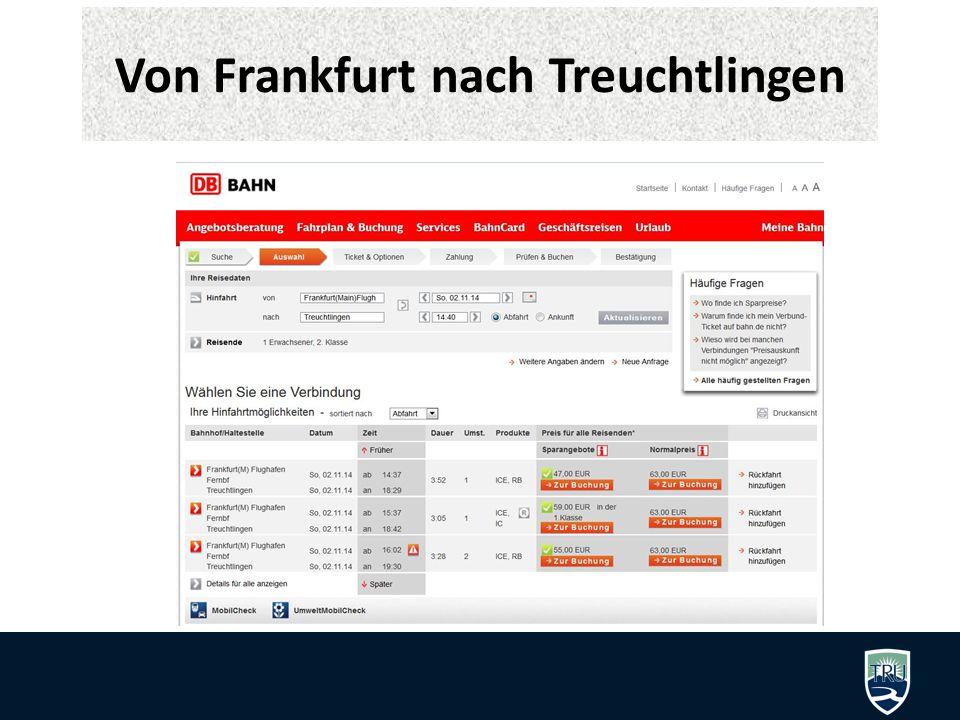 Von Frankfurt nach Treuchtlingen