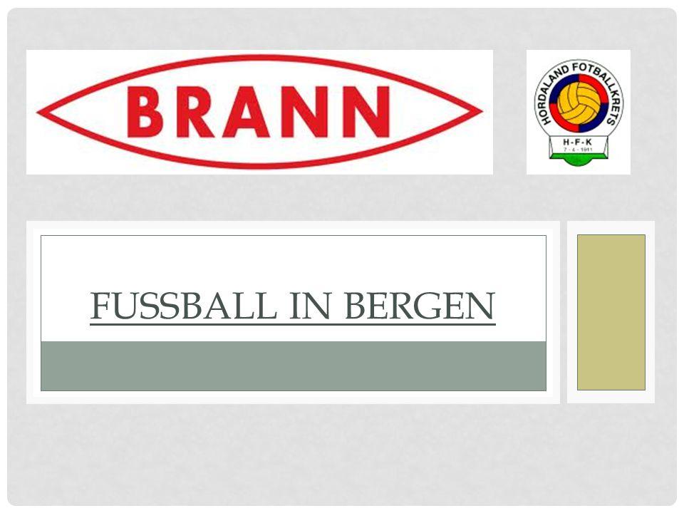 Beinahe 225 Fußballvereine in Bergen.Ungefähr 1000 Fussballplätze in Bergen.