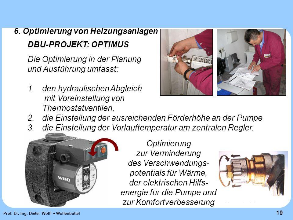 19 Prof. Dr.-Ing. Dieter Wolff ♦ Wolfenbüttel 6.