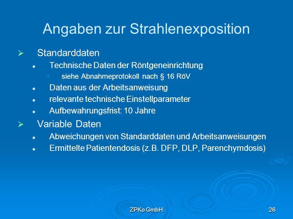 ZPKo GmbH25 Muster eines Röntgenpasses