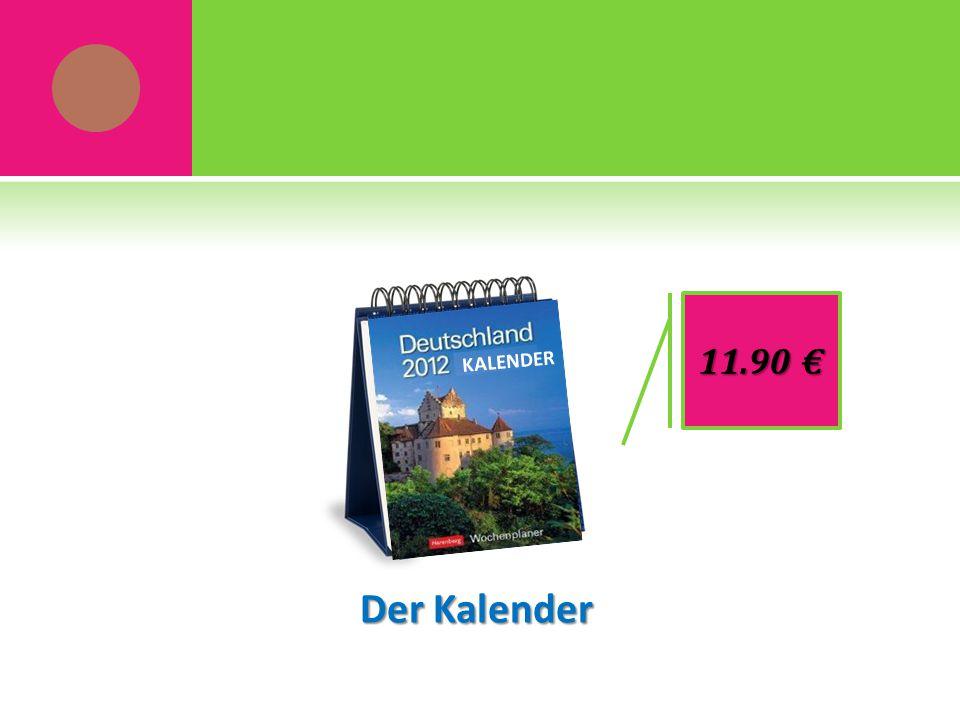 Der Kalender 11.90 € KALENDER