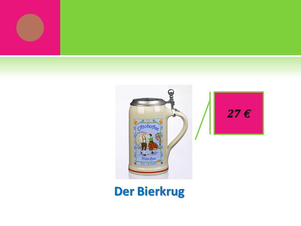 Der Bierkrug 27 €