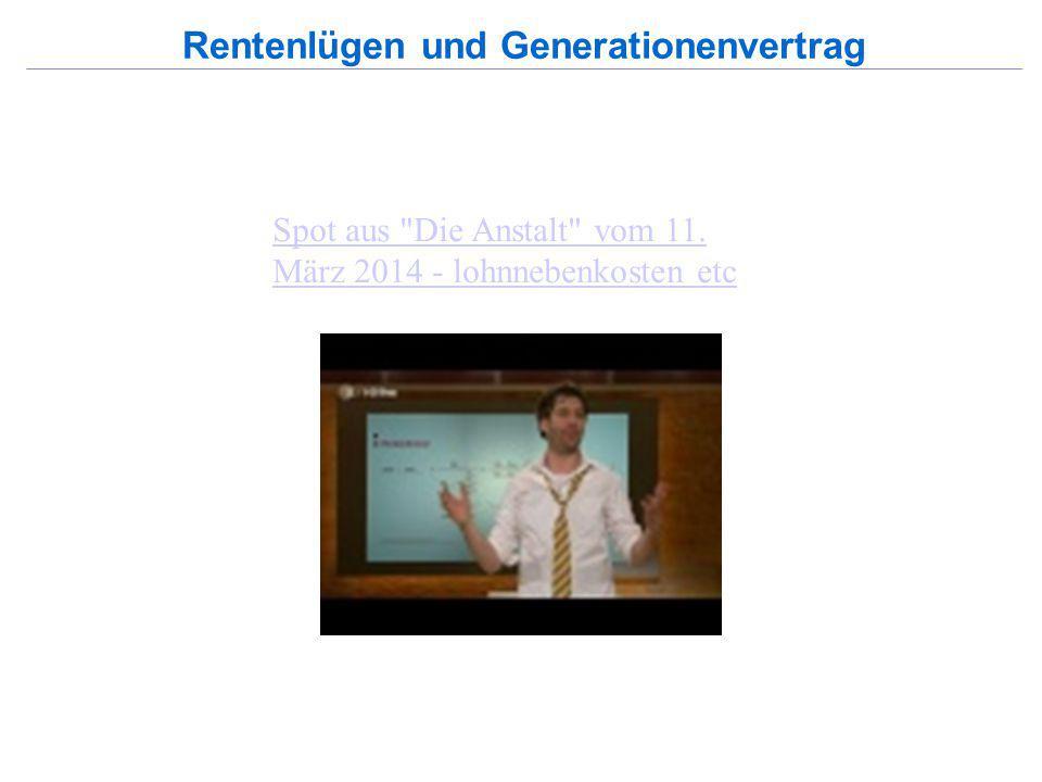 55% 53% 49% 2. Schritt: Rentenlügen und Generationenvertrag Reiner Heyse, Sept. 2014