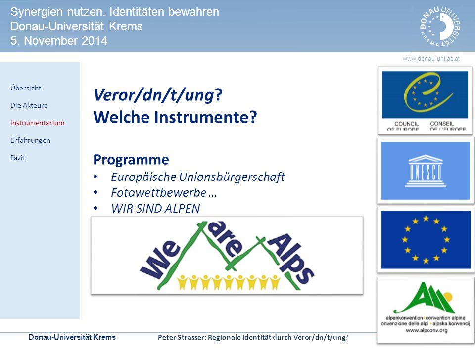Donau-Universität Krems | Seite 10 www.donau-uni.ac.at HERITAGE IMPACT ASSESSMENT Kontrollmechanismen zur Prüfung der Welterbeverträglichkeit in UNESCO-Welterbestätten Veror/dn/t/ung.