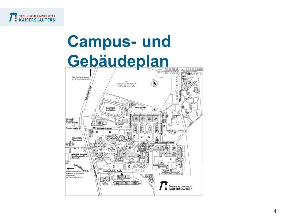 4 Campus- und Gebäudeplan