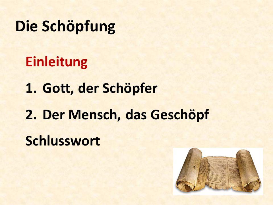 Die Schöpfung (Teil 02/24) Bibelkurs vom 12. September 2014
