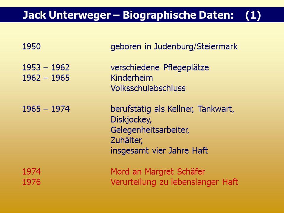 1950geboren in Judenburg/Steiermark 1953 – 1962verschiedene Pflegeplätze 1962 – 1965Kinderheim Volksschulabschluss 1965 – 1974 berufstätig als Kellner