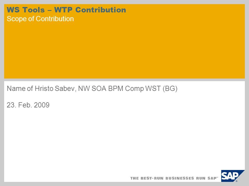 © SAP 2008 / Page 2 1.Web Services DOM 2.