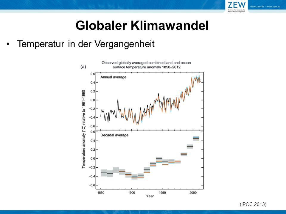 Temperatur in der Vergangenheit (IPCC 2013)