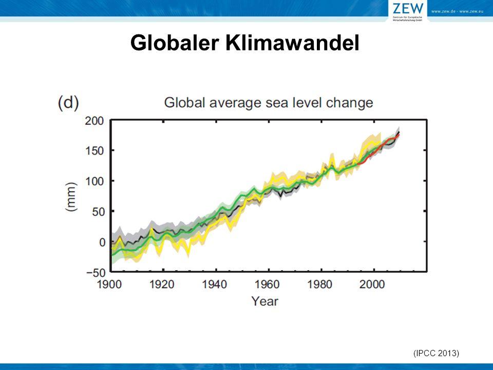 (IPCC 2013) Globaler Klimawandel