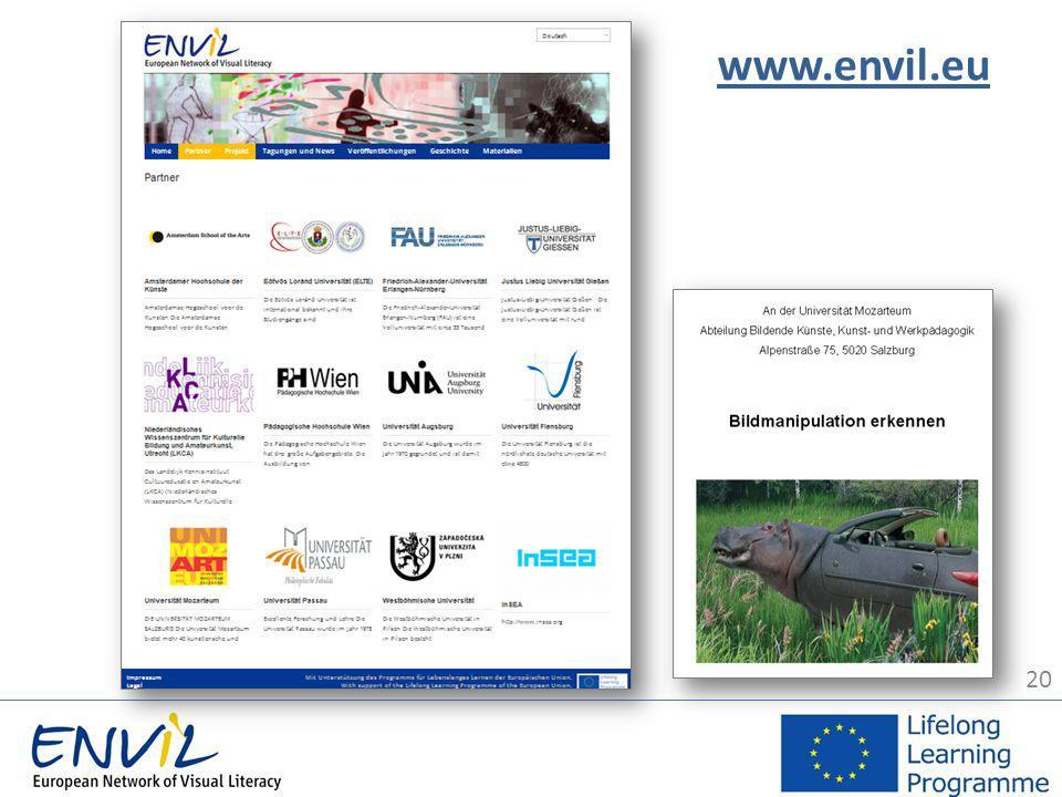 20 www.envil.eu