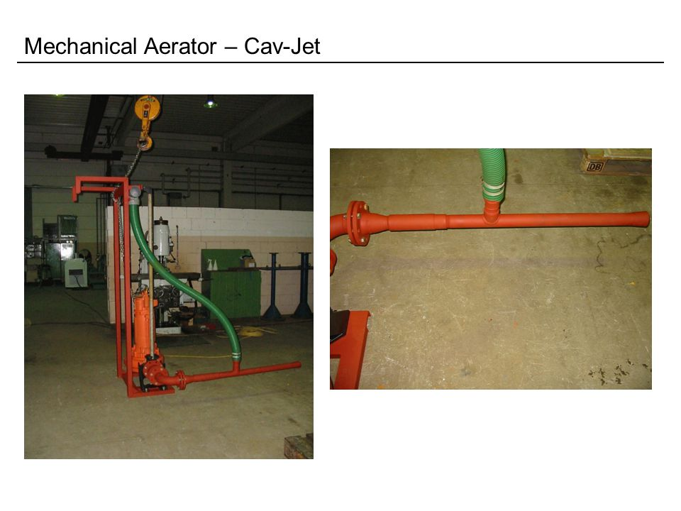 Mechanical Aerator – Cav-Jet