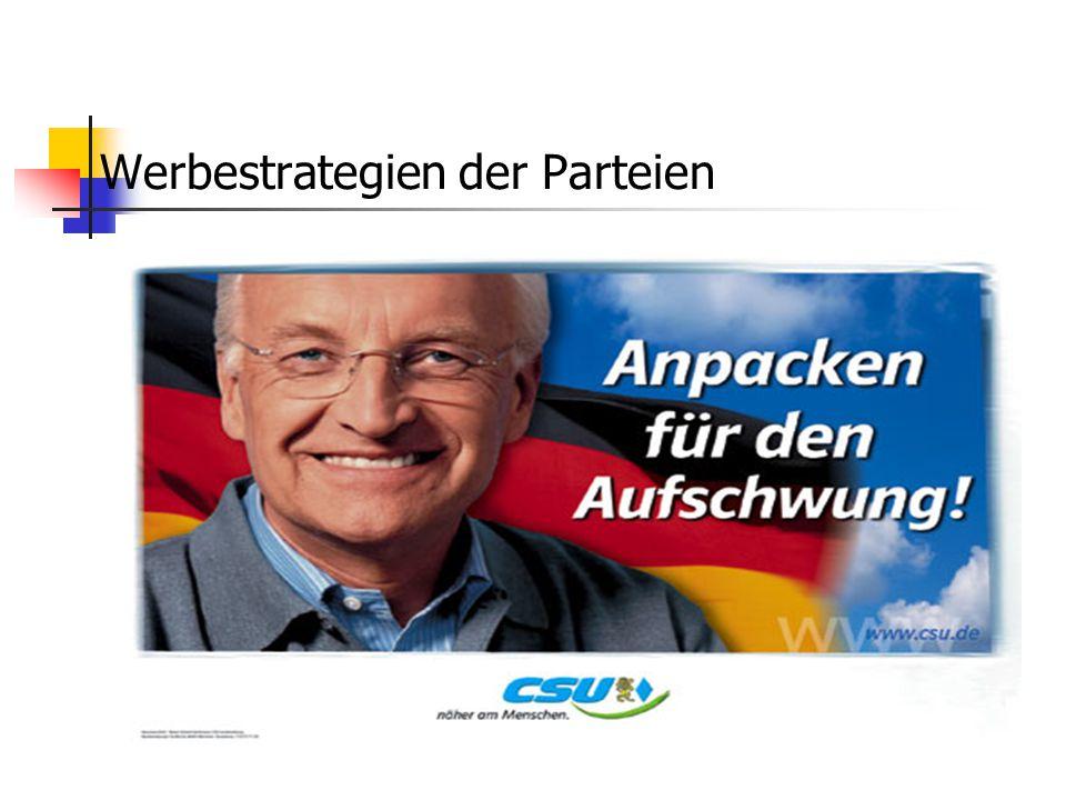 """Wer sind die """"Chefs"""",das """"Personal"""" der Partei CDU CSU Der Vorsitzende: Dr. Edmund Stoiber Stellvertretende Vorsitzende Dr. Ingo Friedrich ; Monika Ho"""