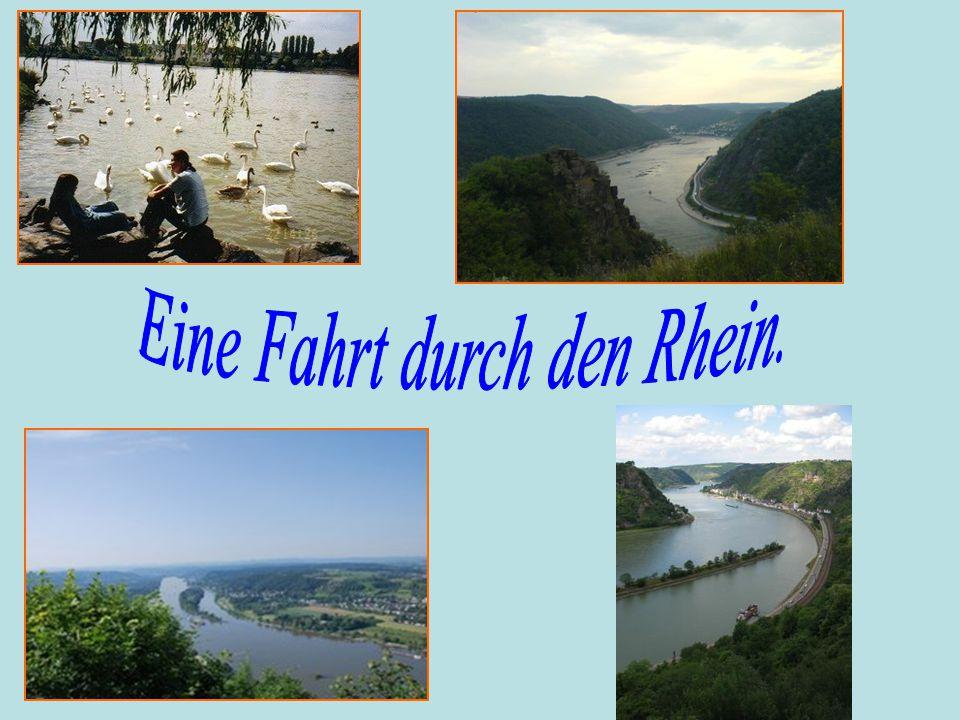 der Mäuseturm der Loreleyfelsen das Siebengebirge Karl MarxLudwig van Beethoven Trier Bonn
