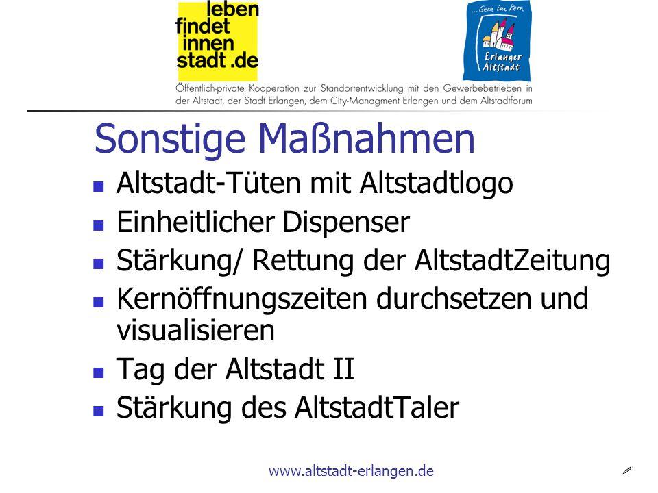www.altstadt-erlangen.de Bisherige Resultate.