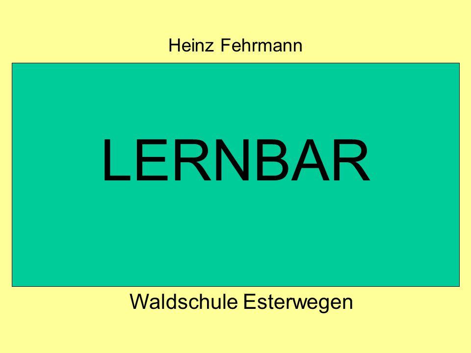 LERNBAR Heinz Fehrmann Waldschule Esterwegen