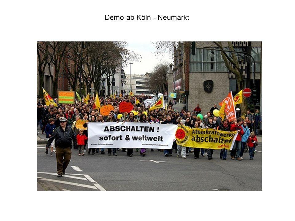 Demo ab Köln - Neumarkt