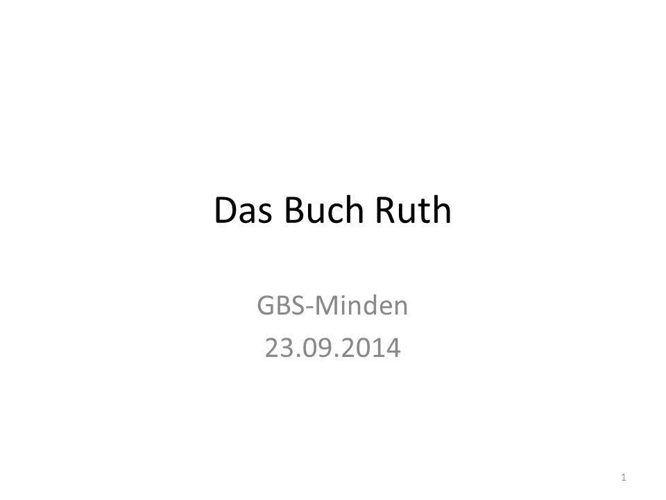 Das Buch Ruth GBS-Minden 23.09.2014 1