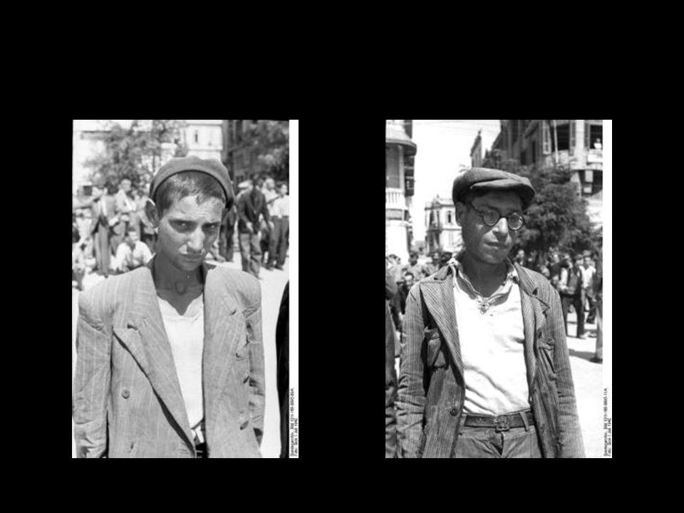 Insgesamt wurden aus Hellas etwa 60.000 Juden deportiert; knapp 2000 überlebten.