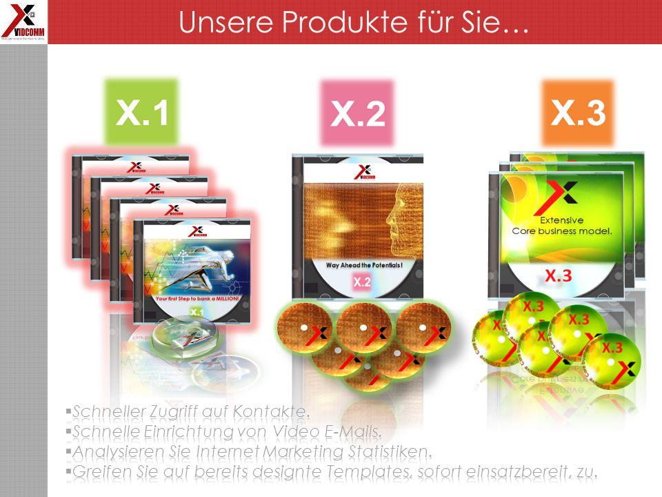 Unsere Produkte für Sie…