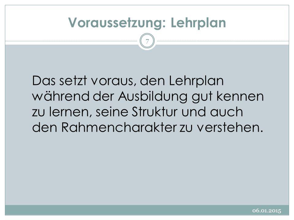 Taxonomie von Lernzielen 06.01.2015