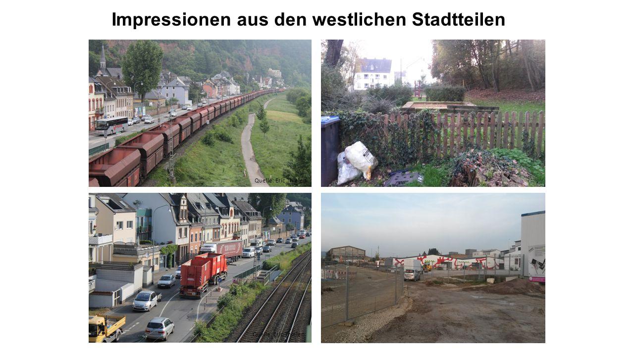 Impressionen aus den westlichen Stadtteilen Quelle: Eric Thielen