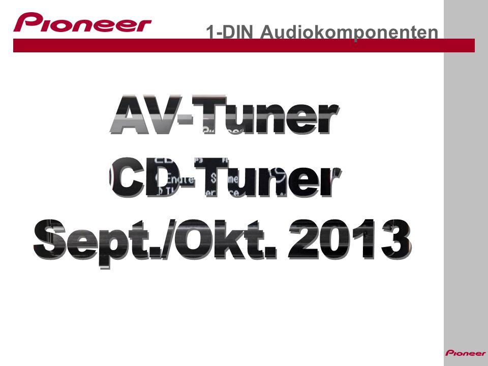 1-DIN Audiokomponenten
