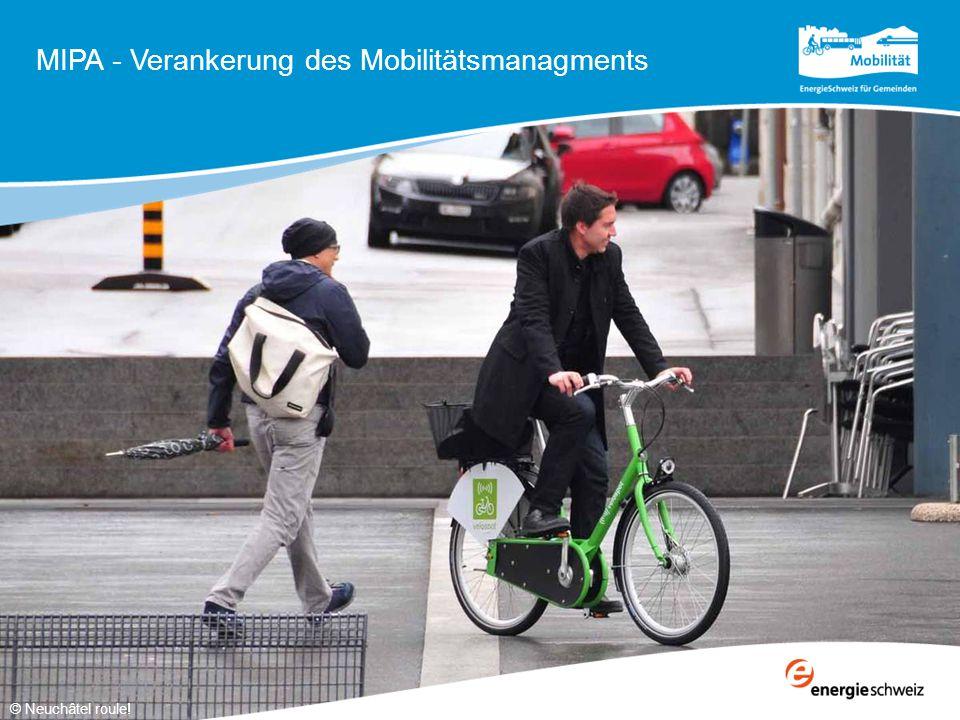 Ziele  Mobilitätskonzept mit Inhalten festsetzen und verankern  Wirkung der Massnahmen prüfen Empfohlene Behandlung  Bei Vorschriften in vorlaufenden Planungsinstrumenten, z.B.