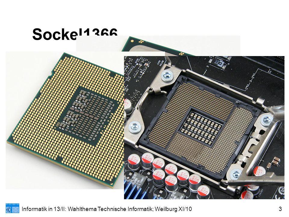 Informatik in 13/II: Wahlthema Technische Informatik; Weilburg XI/103 Sockel1366