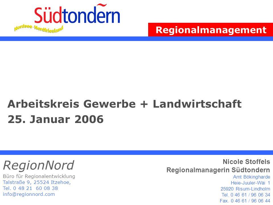 Arbeitskreis Gewerbe + Landwirtschaft 25.