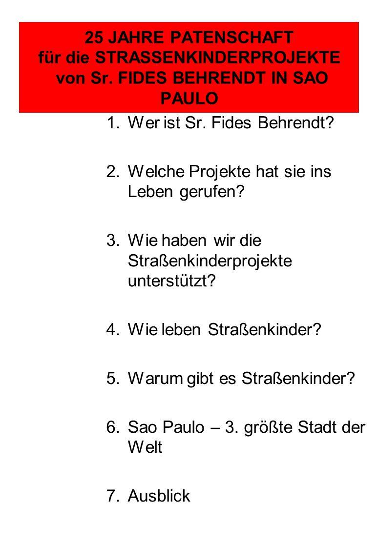 1.Wer ist Sr. Fides Behrendt.