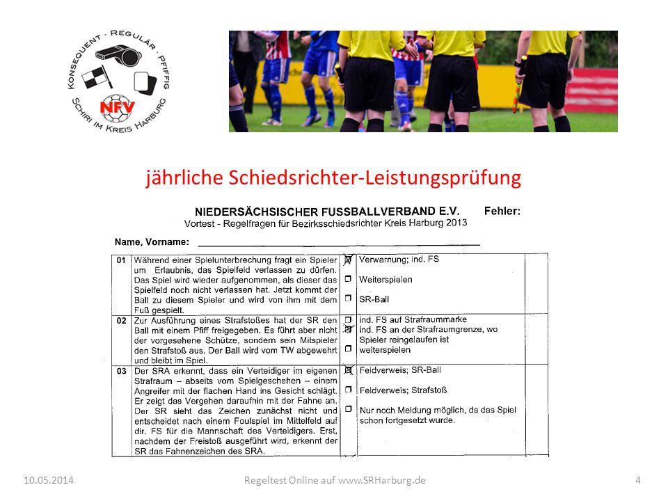 10.05.2014Regeltest Online auf www.SRHarburg.de15