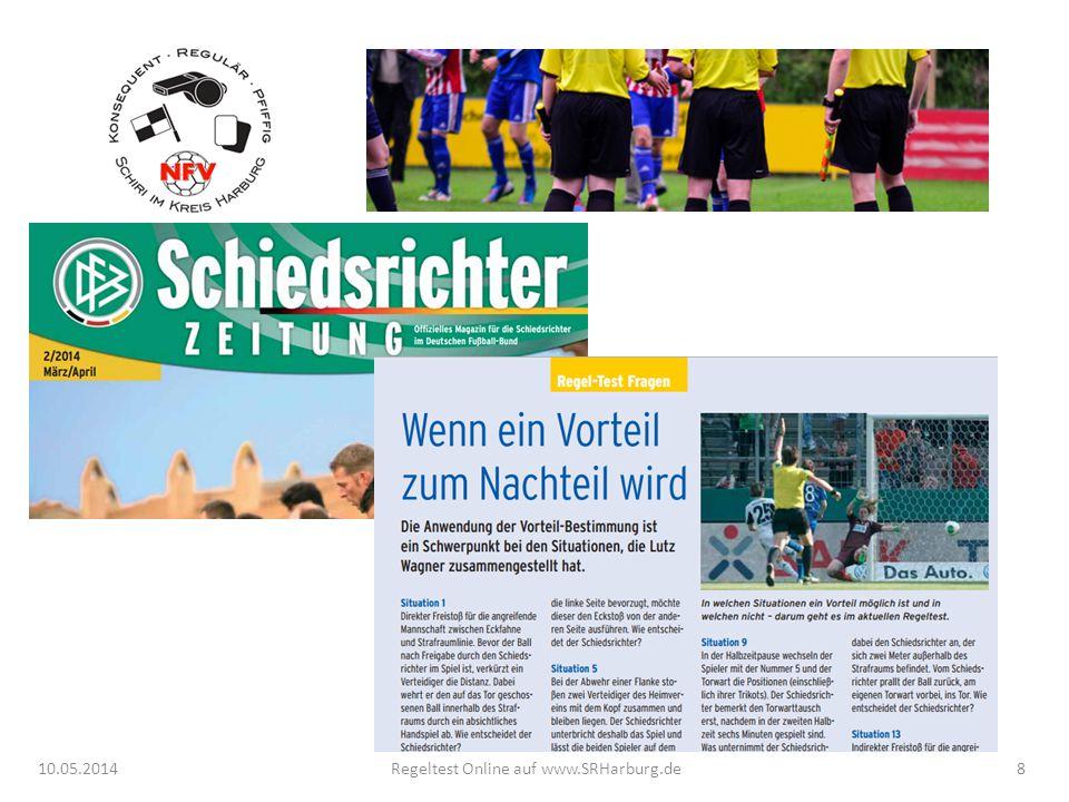 10.05.2014Regeltest Online auf www.SRHarburg.de8