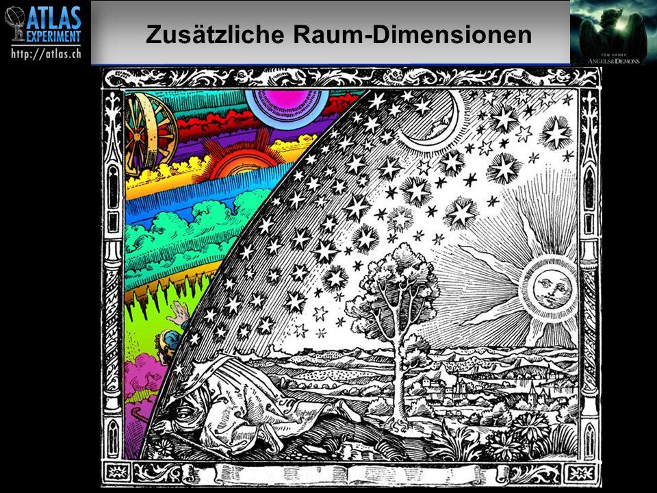Vortragender – Mai 2009 33 Zusätzliche Raum-Dimensionen