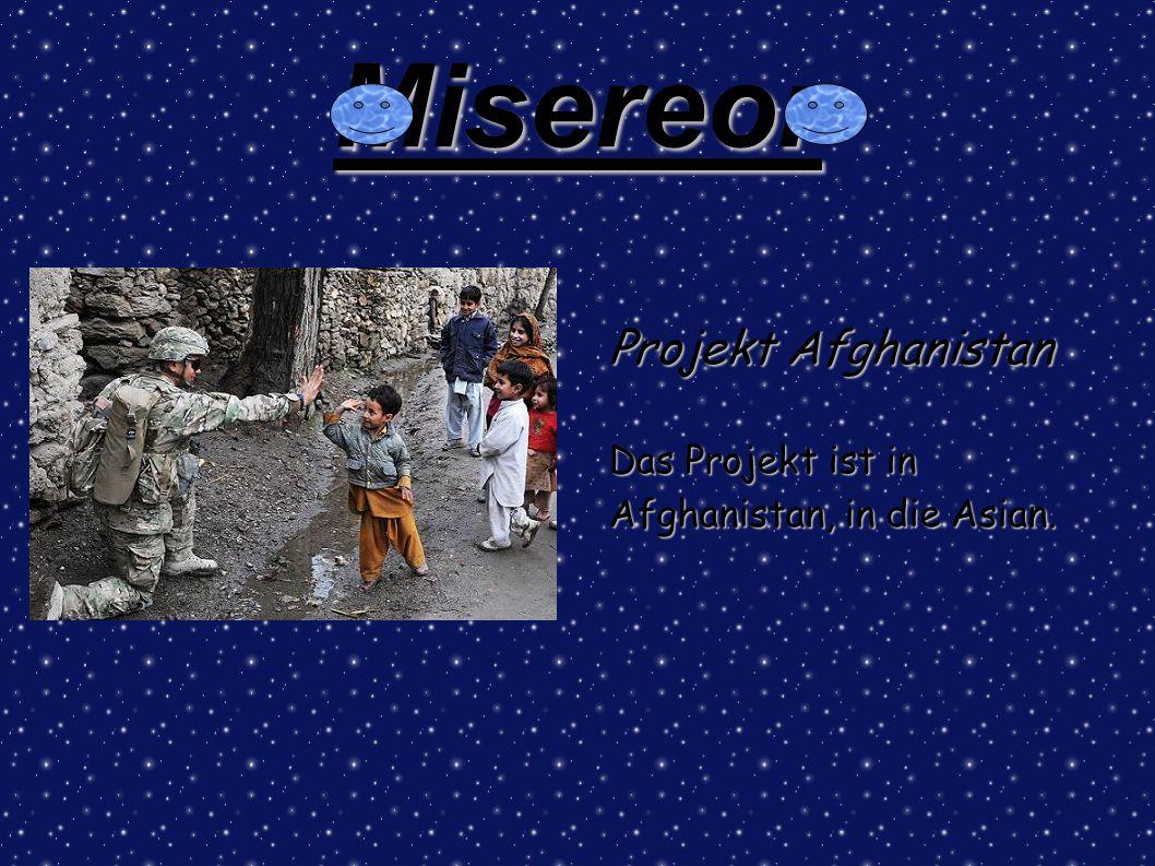 Misereor Projekt Afghanistan Das Projekt ist in Afghanistan, in die Asian.